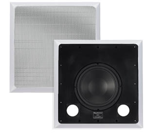 Ridley Acoustics IWS250 In-Wall 10 inch Subwoofer